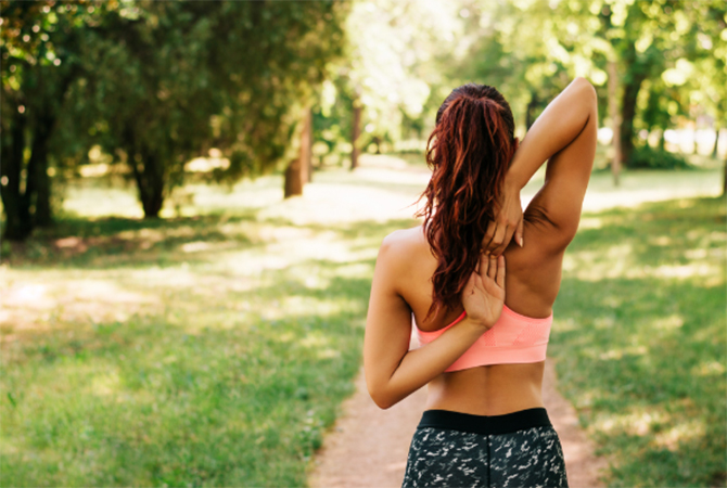 肩の可動域を広げる